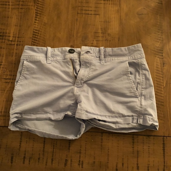 American Eagle Outfitters Pants - AE Super Stretch Shorts - Light Blue